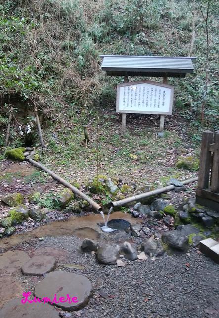幣立神宮 湧き水